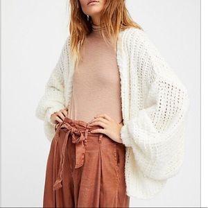 Free people chamomile cropped cardigan